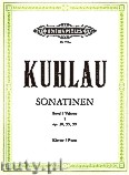 Okładka: Kuhlau Friedrich Daniel Rudolf, Sonatinas for Piano, Op. 20, 55, 59, Vol. 1