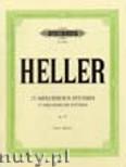 Okładka: Heller Stefan, 25 Melodious Studies Op.45 (Pf)