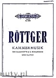 Okładka: Röttger Heinz, Chamber Music for Clarinet, Percussion and Piano
