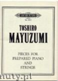 Ok�adka: Mayuzumi Toshiro, Pieces for Prepared Piano and Strings