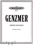 Ok�adka: Genzmer Harald, Sonatina for Cello and Piano, No. 2