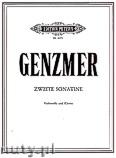 Okładka: Genzmer Harald, Sonatina for Cello and Piano, No. 2