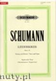 Okładka: Schumann Robert, Liederkreis op. 39 für Sopran oder Tenor und Klavier