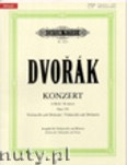 Okładka: Dvořák Antonin, Concerto in B minor Op. 104 for Violoncello and Orchester (Edition for Violoncello and Piano)