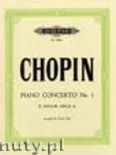 Ok�adka: Chopin Fryderyk, Concerto No. 1 in E minor Op. 11 for Piano and Orchestra (Edition for Piano Solo)