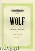 Okładka: Wolf Hugo, Mörike- Lieder, Band 4