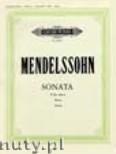 Ok�adka: Mendelssohn-Bartholdy Feliks, Sonata in B flat minor