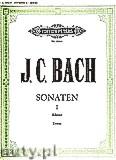Okładka: Bach Johann Christian, Sonatas for Piano, Vol. 1