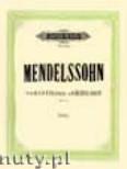 Ok�adka: Mendelssohn-Bartholdy Feliks, Variations S�rieuses in D minor for Piano, Op. 54