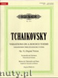 Ok�adka: Czajkowski Piotr, Variations on a Rococo Theme, Op. 33 for Violoncello and Orchestra