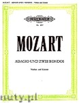 Okładka: Mozart Wolfgang Amadeusz, Adagio und zwei Rondos