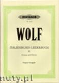 Okładka: Wolf Hugo, Italienisches Liederbuch, Band 2
