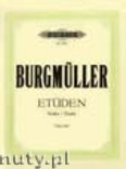 Ok�adka: Burgm�ller Friedrich, 18 Characteristic Studies Op. 109 for Piano