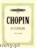 Ok�adka: Chopin Fryderyk, Etudes for Piano, Op. 10, Op. 25, 3 Etudes without opus