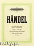 Okładka: Händel George Friedrich, Oboe Concerto in E flat