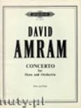 Ok�adka: Amram David, Concerto for Horn (Hn-Pf)