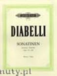Ok�adka: Diabelli Antonio, Sonatinen, Opus 151, 168