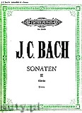 Okładka: Bach Johann Christian, Sonatas for Piano, Vol. 2
