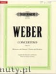 Okładka: Weber Carl Maria von, Concertino in E flat Op. 26