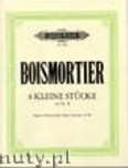 Ok�adka: Boismortier Joseph Bodin, 8 Little Pieces from Op. 40