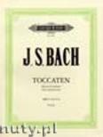 Okładka: Bach Johann Sebastian, Toccaten BWV 910 - 916