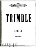 Okładka: Trimble Lester, Duo for Viola and Piano