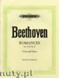 Ok�adka: Beethoven Ludwig van, Romances for Viola and Piano, Op.40, Op. 50