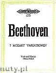 Okładka: Beethoven Ludwig van, 7 Variationen über das Duett