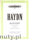 Ok�adka: Haydn Franz Joseph, Concerto in D Hob.VIIb/2 for Violoncello and Piano