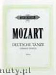 Okładka: Mozart Wolfgang Amadeusz, Deutsche Tänze für Klavier