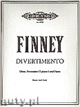 Okładka: Finney Ross Lee, Divertimento for Oboe, Percussion (1 player) and Piano