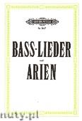 Ok�adka: Peters C. F., Bass - Lieder und Arien f�r Singstimme und Klavier