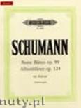 Okładka: Schumann Robert, Albumblätter, Op. 124 und  Bunte Blätter, Op. 99
