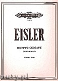 Ok�adka: Eisler Hanns, Third Sonata for Piano