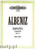 Okładka: Albéniz Isaac, Espana Op.165 (Pf)