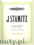 Ok�adka: Stamitz Johann Wenzel Anton, Concerto in G for Viola, Strings and Harpsichord