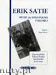 Okładka: Satie Erik, Music for Piano, Vol. 1