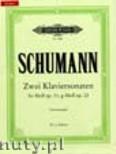 Ok�adka: Schumann Robert, Two Sonatas for Piano, F minor Op. 11, G minor Op. 22