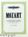 Ok�adka: Mozart Wolfgang Amadeusz, Concertante in D (after Sonata, K.448, for two pianos) (2Vln-Pf)