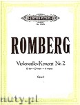 Okładka: Romberg Bernhard Heinrich, Konzert für Violoncello und Orchester Nr. 2 D-Dur op. 3