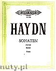 Okładka: Haydn Franz Joseph, 12 Selected Sonatas for Piano