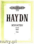 Ok�adka: Haydn Franz Joseph, 12 Selected Sonatas for Piano