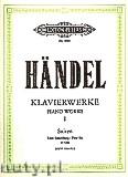 Okładka: Händel George Friedrich, Piano Works, Suites, HWV 426-433, Vol. 1 (First Set)