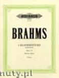 Okładka: Brahms Johannes, 4 Pieces Op. 119