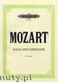 Ok�adka: Mozart Wolfgang Amadeusz, Der Schauspieldirektor, Kom�die mit Musik in einem Akt,  KV 486