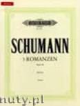 Okładka: Schumann Robert, 3 Romances Op. 28 for Piano