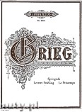 Okładka: Grieg Edward, Springtide, Op. 34, No. 2