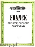 Ok�adka: Franck C�sar, Pr�lude, Choral and Fugue Op. 21 for Piano