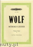 Okładka: Wolf Hugo, Songs to poetry by Eduard Mörike for Voice and Piano, Vol. 1
