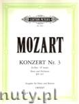 Okładka: Mozart Wolfgang Amadeusz, Horn Concerto No. 3 in E flat K. 447 (Hn-Pf)